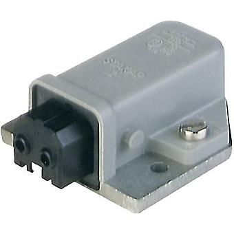 Mains connector Series (mains connectors) STAKAP Socket, horizontal mount