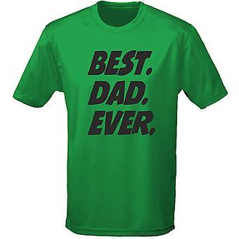 El mejor día Mens t-shirt 10 colores papá siempre padre (S-3XL) por swagwear