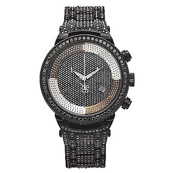 Joe Rodeo diamond men's watch - MASTER black 25 ctw