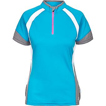 Trespass Womens/Ladies Harpa Half Zip Wicking Quick Dry Cycling Top