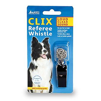 The Company Of Animals Clix Referee Whistle Dog Toy