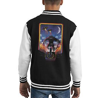 Space Invader Kid's Varsity Jacket