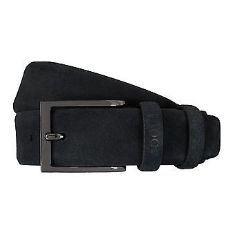 JOOP! Ceinture en cuir ceintures ceintures hommes 5911 Blue Suede
