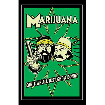 Cheech & Chong Blacklight Poster Print