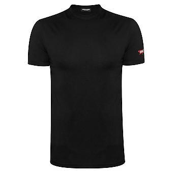 DSQUARED2 Underwear DSQUARED2 Black T-Shirt