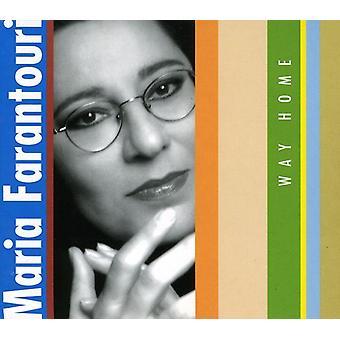 Maria Farantouri - Way Home [CD] USA import