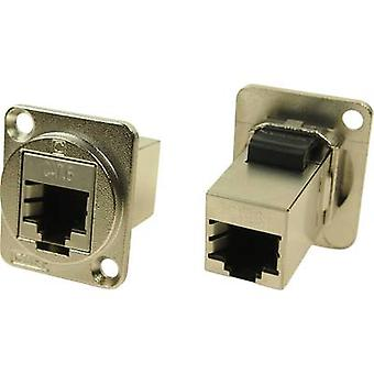 XLR Adapter UTP RJ45 CAT 6 Adapter, built-in CP30222SM Cliff Content: 1 pc(s)