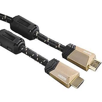 Hama HDMI Cable [1x HDMI plug - 1x HDMI plug] 1.5 m Black