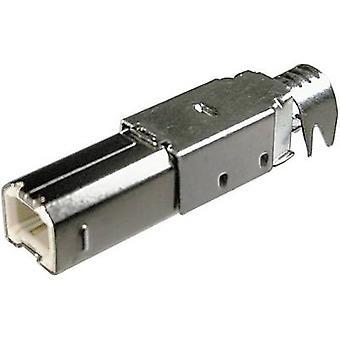 BKL électronique auto-assemblage USB B fiche, quinte USB B