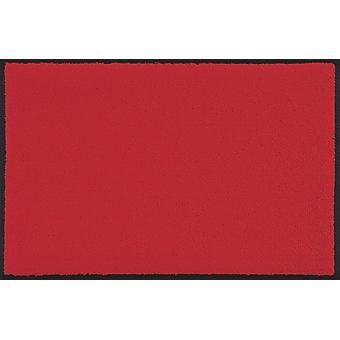 wash+dry Fußmatte Scarlet - rot