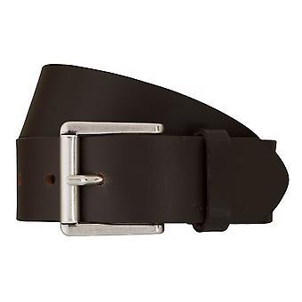 TOM TAILOR belt leather belts men's belts jeans belt Brown 7606