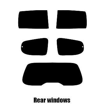 Pre gesneden venster tint - Dacia Lodgy - 2012 en nieuwer - achterzijde windows