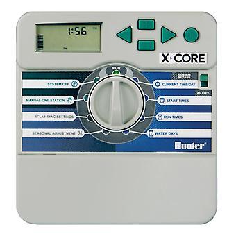 Hunter X-Core 801i 8-Station 230/240 VAC-indoor-Controller mit Kunststoffgehäuse