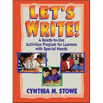 Let's Write! - A Ready-to-use Activities Program for Learners with Spe