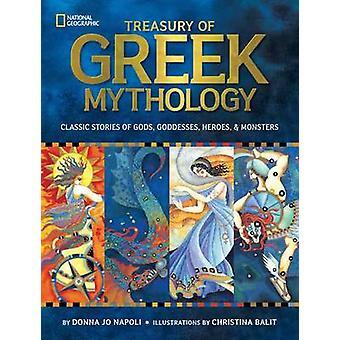 Treasury of Greek Mythology - Classic Stories of Gods - Goddesses - He