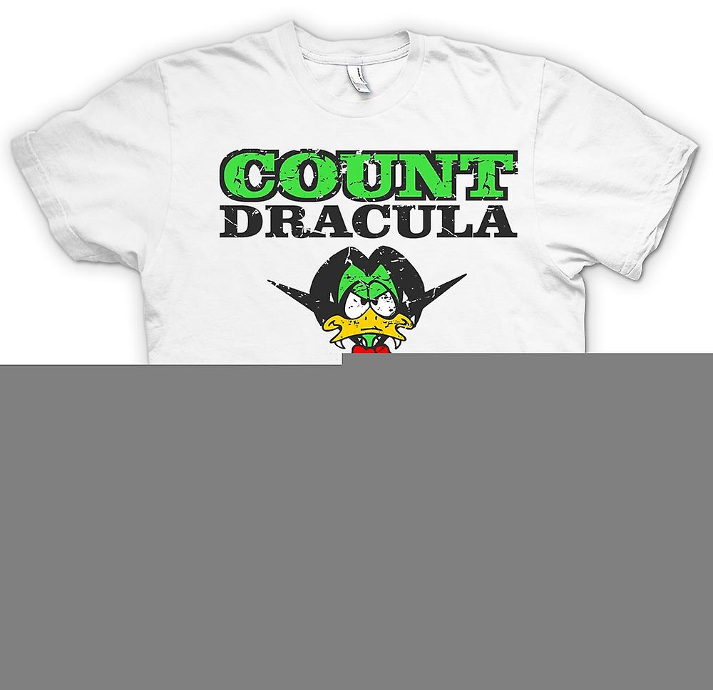 Womens T-shirt - Count Dracula - Count Duckula Inspired