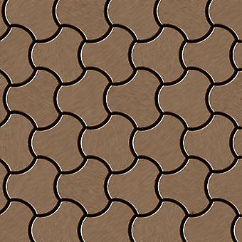 Metal mosaic Titanium ALLOY Ubiquity-Ti-AB