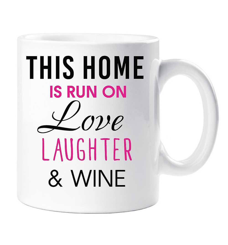 Cette Maison Rire Sur Le Exécutée Et De Vin L'amour Tasse Est TJFlK1c