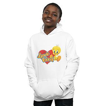 Looney Tunes Boys Tweety Pie Valentine's Day Love Bird Hoodie