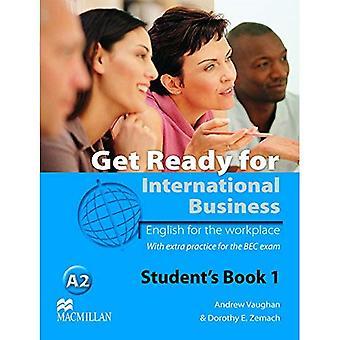 Prepare-se para o livro do estudante de negócios internacionais com BEC nível 1