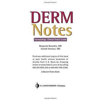 DermNotes: Dermatology Clinical Pocket Guide (Davis Notes)