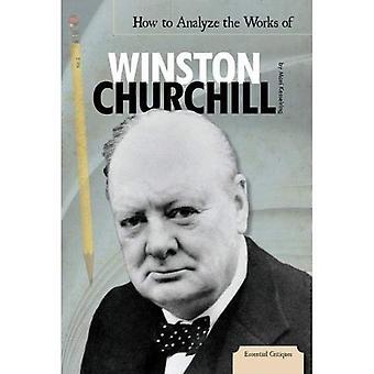 Hoe om te analyseren van de werken van Winston Churchill