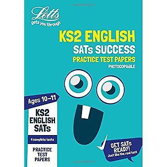 KS2 English SATs Practice Test Papers (Photocopiable edition): 2018 tests (Letts� KS2 SATs Success) (Letts KS2 SATs Success)