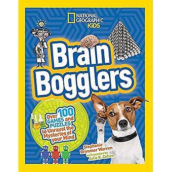 Navegadores del cerebro: más de 100 juegos y rompecabezas para revelar los misterios de la mente