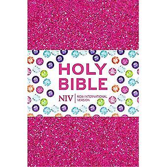 NIV Ruby Pocket Bible: Pink Glitter
