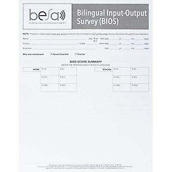 Tweetalig Engels-Spaans Assessment (TM) (BESA (TM)): Tweetalige Input-Output enquêtes (BIOS)