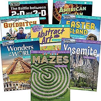 Meetkunde: Rangen 4-5 (8-boek Set) (wiskunde lezers)