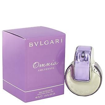 Omnia Amethyste door Bvlgari Eau De Toilette Spray 1.3 oz/38 ml (vrouwen)