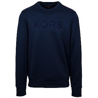 Michael Kors  Michael Kors Navy Crew Neck Sweatshirt