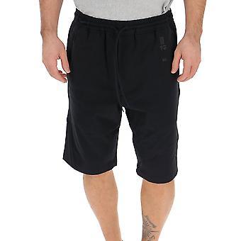 Y-3 Black Cotton Shorts