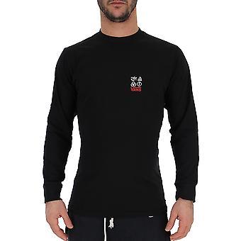 Suéter de algodón negro de Vans