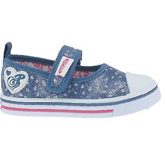 Primigi meninas 3445322 UNP lona 34453 sapatos azul