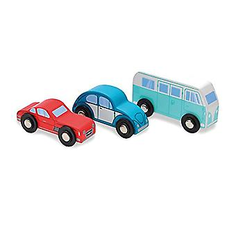 Indigo Jamm Classic Collection - Set Of 3 Iconic Wooden Vehicles