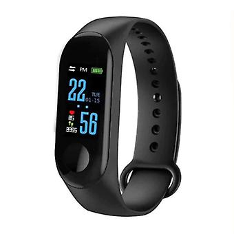 Stuff Certified ® Original M3 Smartband Sport Smartwatch Smartphone Watch OLED iOS Android Black