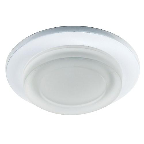 Endon EL-IP-1000-WH Recessed Bathroom Shower Light In White - Ip65 Gu10