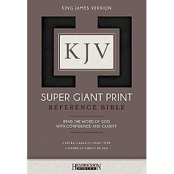 KJV Super Giant Print Bible by Hendrickson Bibles - 9781619709690 Book