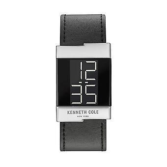 Kenneth Cole New York ladies watch leather wristwatch digital KCC0168001