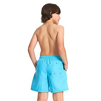 Zoggs Boys Mosman Washed Swim Shorts - Turquoise
