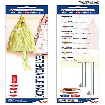 Protenrop Extensible coat rack- 60/90 Cm. (Storage and organization , Organizers)