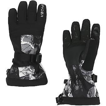 Spyder OVERWEB Gore-Tex Boys Ski Gloves frozen