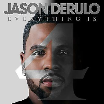 Jason Derulo - Everything Is 4 [CD] USA import