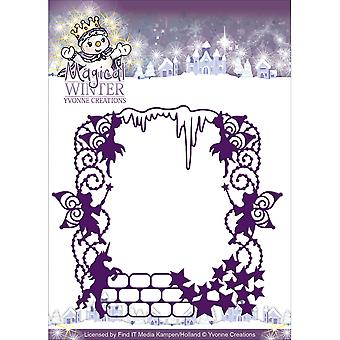 Find It Trading Yvonne Creations Magical Winter Die-Magical Frame YCD10041
