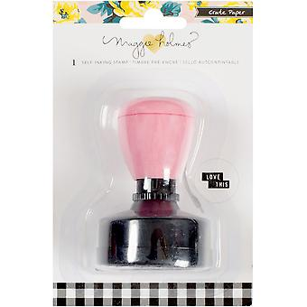 Maggie Holmes Bloom Self-Inking Stamp-Love This 680439