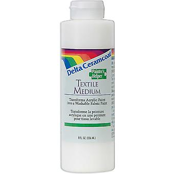 Ceramcoat Painters Helper Textile Medium 8 Ounces 10 300 0802