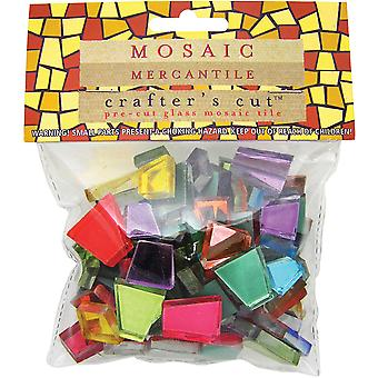 Crafter's Cut Colored Mirrors 1 2 Pound Pkg Assorted Cc Mr