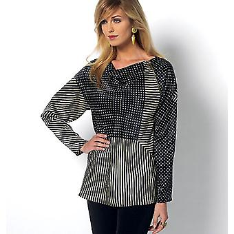 Misses' Top  Lrg  Xlg Pattern B5816  0Z0